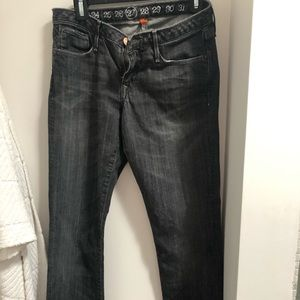 Earnest Sewn Designer Jeans- Dark Grey